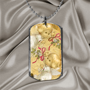 Digital Template for Dog Tag Pendant
