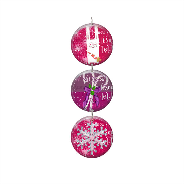 Digital Template for button Christmas Tree ornament